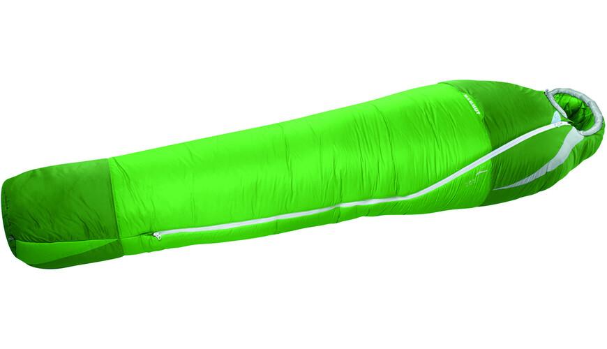 Mammut Kompakt MTI 3-Season Sleeping Bag 195cm sherwood/dark spring